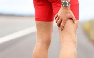 Травмы мышц бедра
