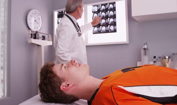Диагностика травмы головы