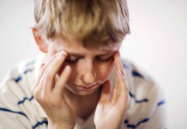 Головная боль от сотрясения