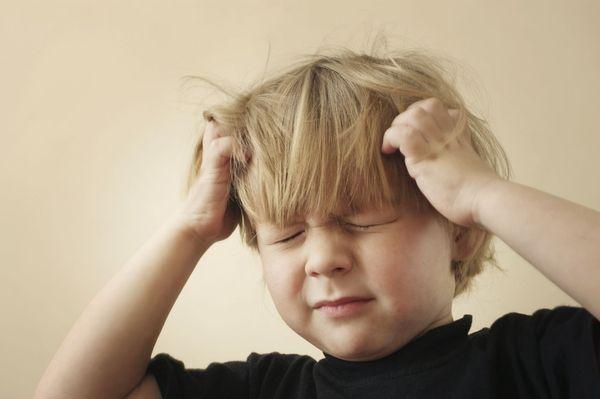 Травма головы у мальчика