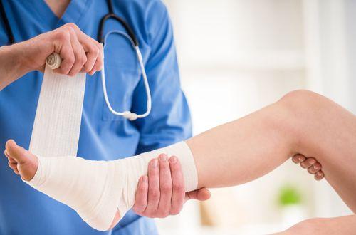 Лечение поврежденной стопы