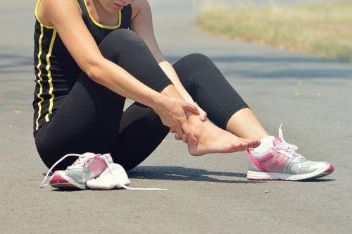 Повреждение связок стопы