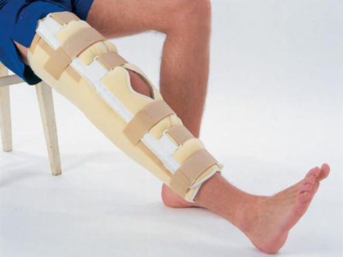 Фиксация ноги