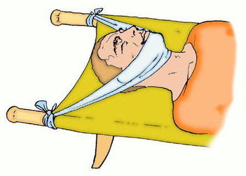 Первая помощь при травме шеи