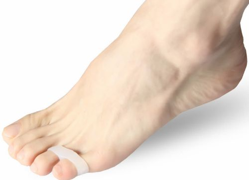 повязка на пальцах ноги